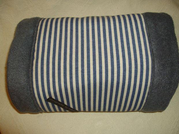 blau/weiß und grau (Dekostoff: Toile de jouy) - Zuhause gefunden