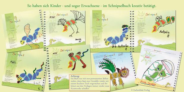 Aus dem Buch Familienname: Schnipsel © Eschenblatt-Verlag