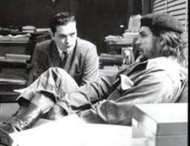 Ernest Mandel og Che Guevara, Cuba 1963