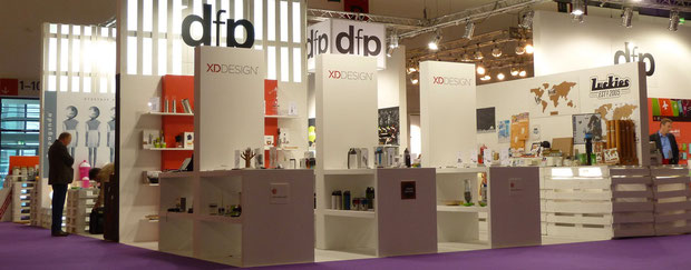 DFP Messestand Tendence 2012