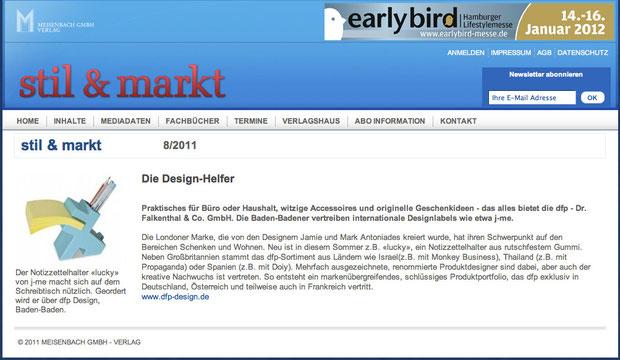 stil & markt Die Design Helfer