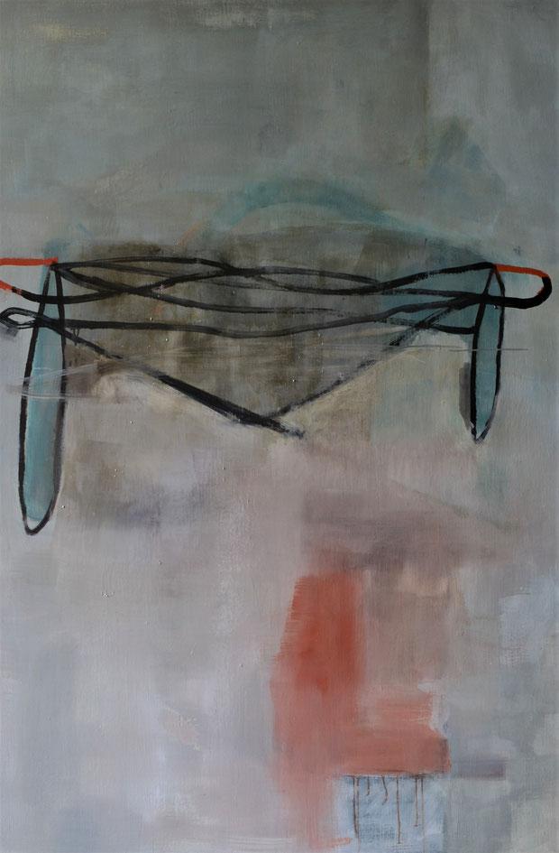 Robe. Huile sur toile, 195 x 145cm. 2018