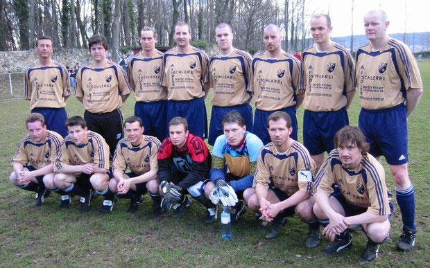 SV Manhartsberg Kampfmannschaft Frühjahr 2006