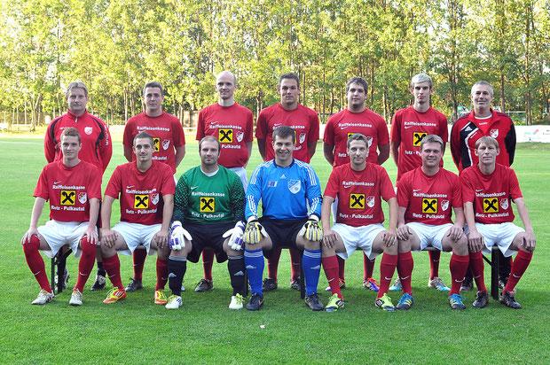 SV Manhartsberg, SVM, Kampfmannschaft, Erste, Herbst 2011