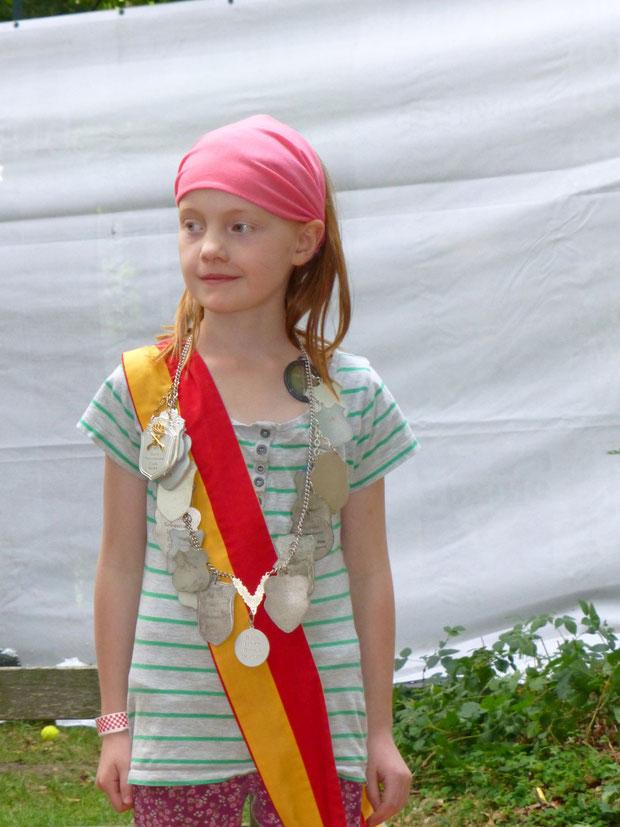 Kinderschützenkönigin Romy Schroer