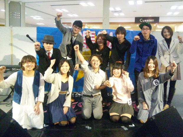2014/01/03 DREAM FESTIVAL at イオン高槻店