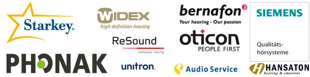 Die Top Ten unserer Hörgeräte-Hersteller