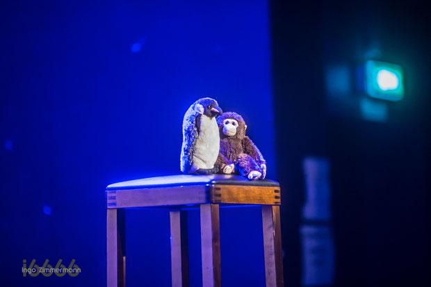 Timo Wopp : Pinguin und Affe