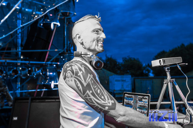 Ralph-Armand Beck ( DJ Taucher )  auf der Nature One 2015