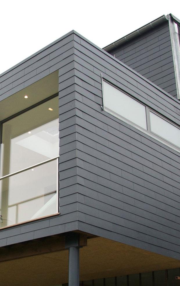 bardage ardoises esquisse bureau d 39 architecture. Black Bedroom Furniture Sets. Home Design Ideas
