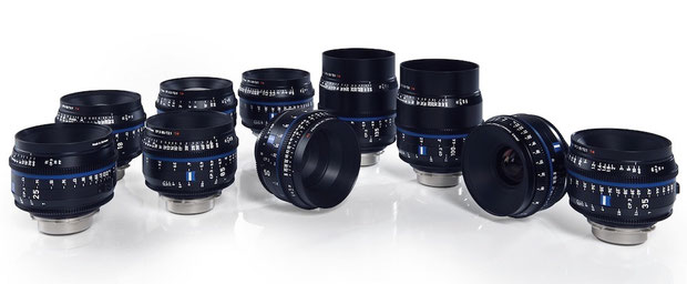 Puhlmann Cine - ZEISS Compact Prime CP.3 and CP.3 XD Lenses