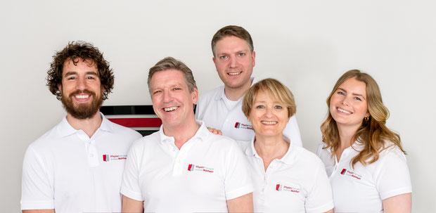 Gemeinsam machen wir uns für Ihre Gesundheit stark - Das Team der Physiotherapie Mühlheim GmbH