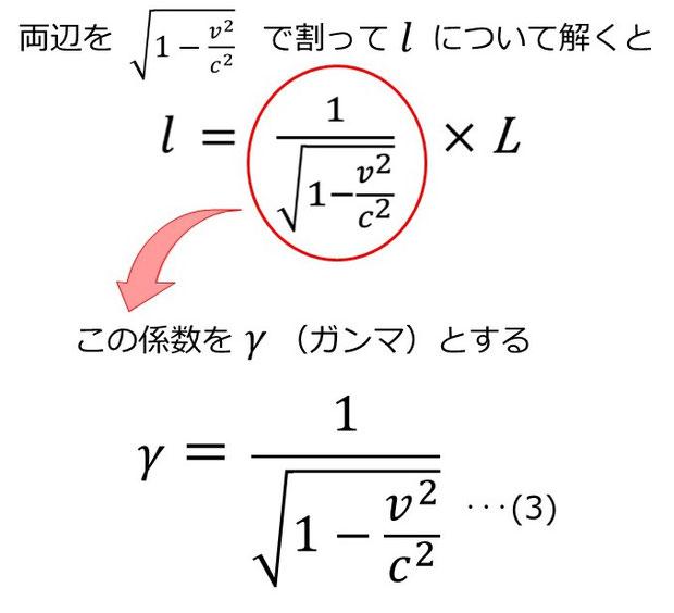 ローレンツ因子γ
