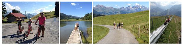 Sommerferien in Saanenmöser, Berner Oberland