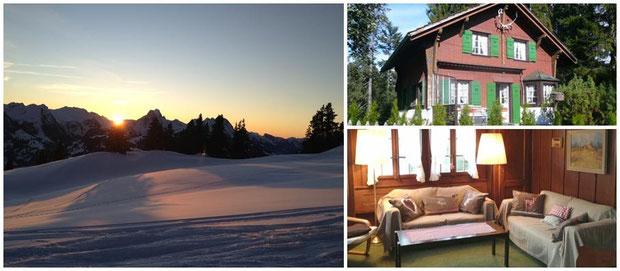 Chalet im Berner Oberland bei Gstaad