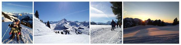 Winterferien in Sannenmöser, Berner Oberland