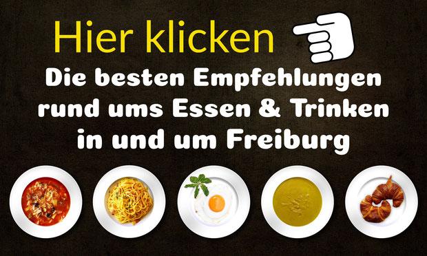 Die besten Restaurants/Cafes/Clubs uvm in und um Freiburg