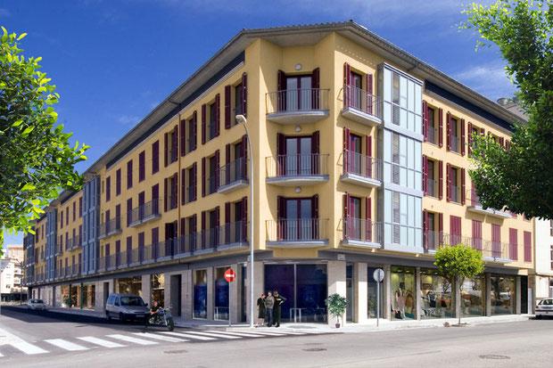 Edificio Plurifamiliar de viviendas y locales. Manacor