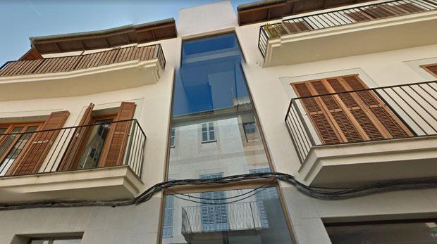 Edificio plurifamiliar y locales en centro de Manacor. Mallorca