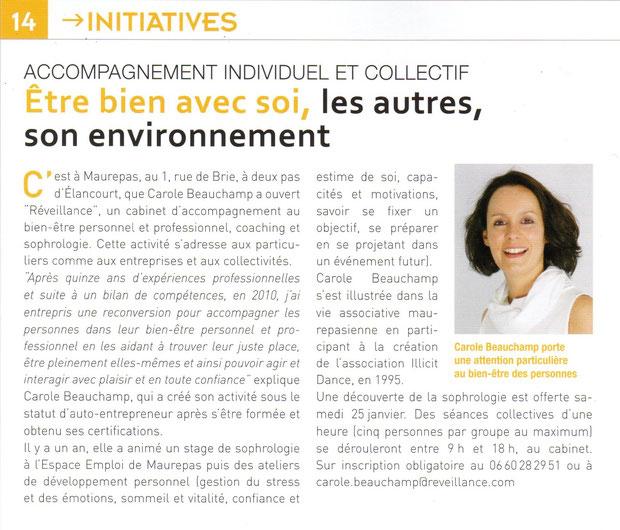 Maurepas Actualité - Janvier 2014 n°148