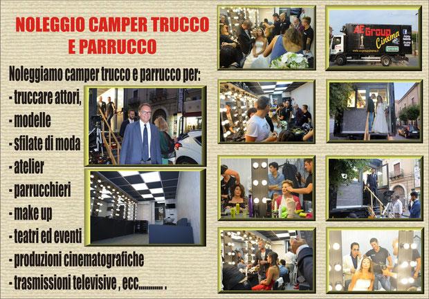 Noleggio camper trucco Napoli - Bicamper, tricamper e quadricamper