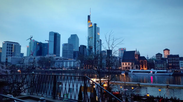 Skyline View Frankfurt am Main