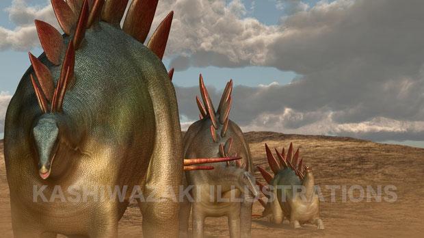 ステゴサウルスの衰退