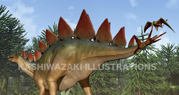 ステゴサウルスの頭脳