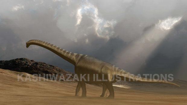 大型竜脚類の衰退