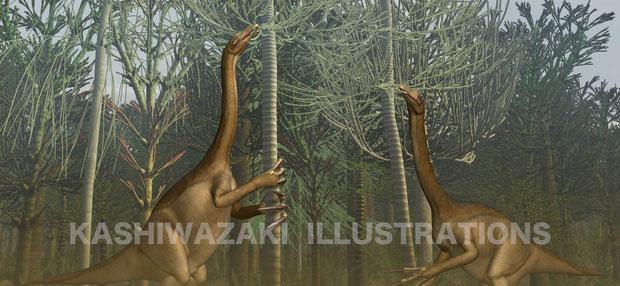 テリジノサウルスの長い爪はなんのため