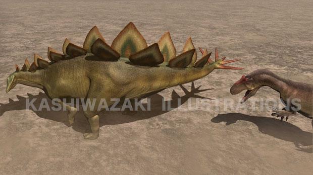 ステゴサウルスの尾はなんのため