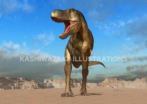 丹波化石館 タルボサウルスポスター