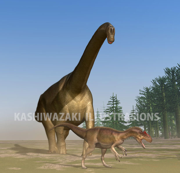アシェットジャパンさん『体のふしぎ』からブラキオサウルス