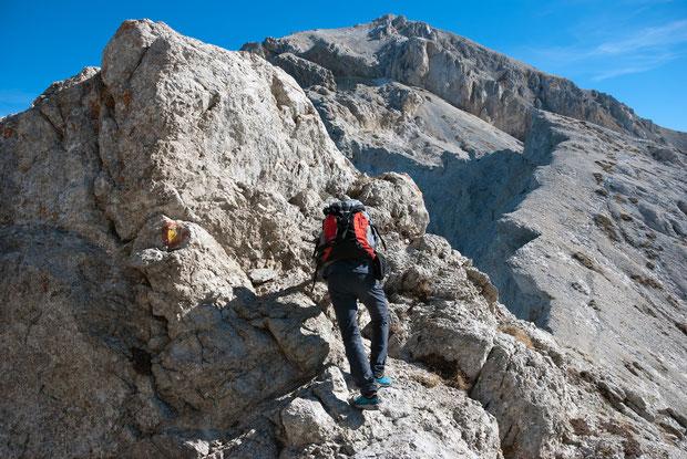 Verso il Monte Camicia