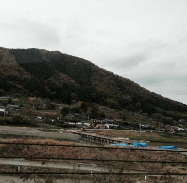 茨城方面の山