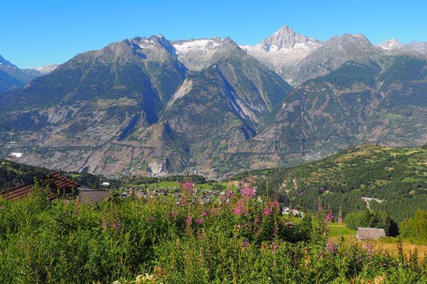 Bergen, Wandelen, Alp, trollis, brandalp, Unterbäch,