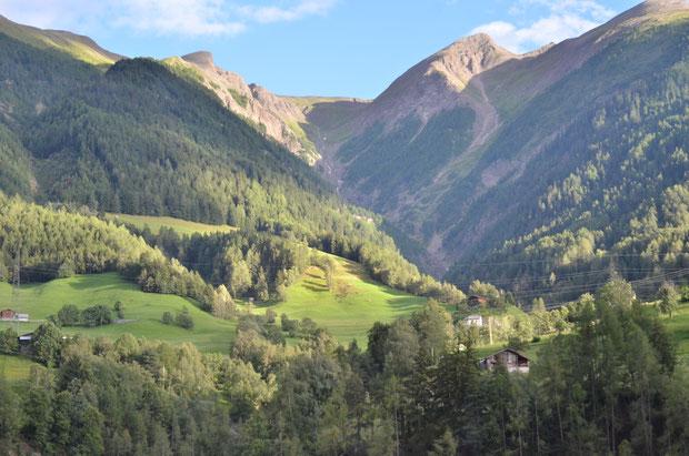 Goms, Wallis, Zwitserland, bergen, Wandelen, vakantie, zomer,