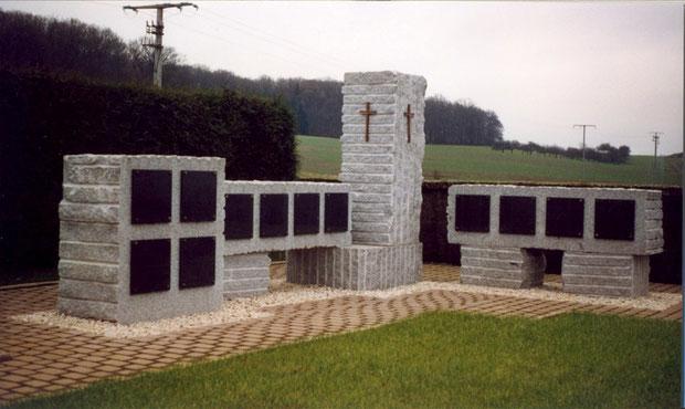 Columbarium en granit masssif
