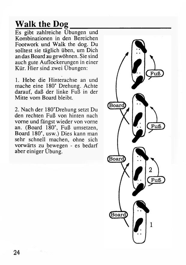 Walk the Dog. Der Klassiker aus den 70iger Jahren.