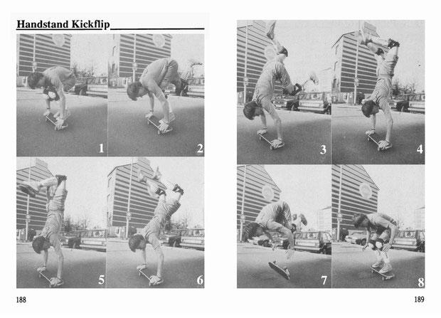 Guenter Mokulys. Trick: Handstand Kickflip.