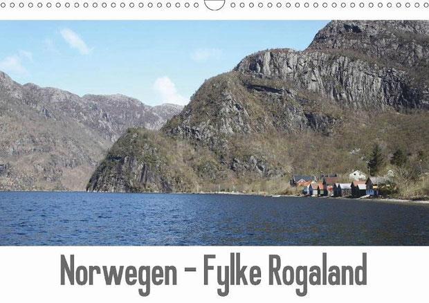 Norwegen - Fylke Rogaland von Kleverveer
