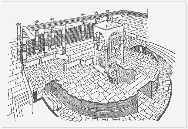 Ricostruzione presbiterio e cripta semianulare S. Pietro in Vaticano