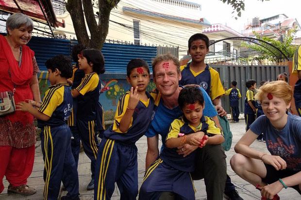Kinder im Haus der Hoffnung in Nepal