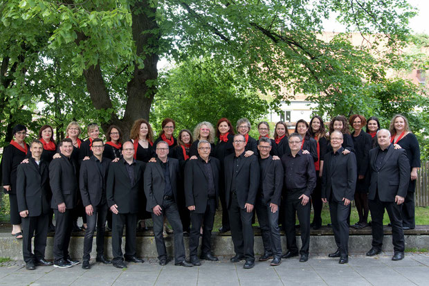 Gruppenbild des Gospelchors Joy of Gospel