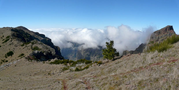 beim Pico do Arieiro