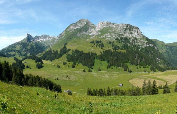Gros Mont mit Dent de Breinleire