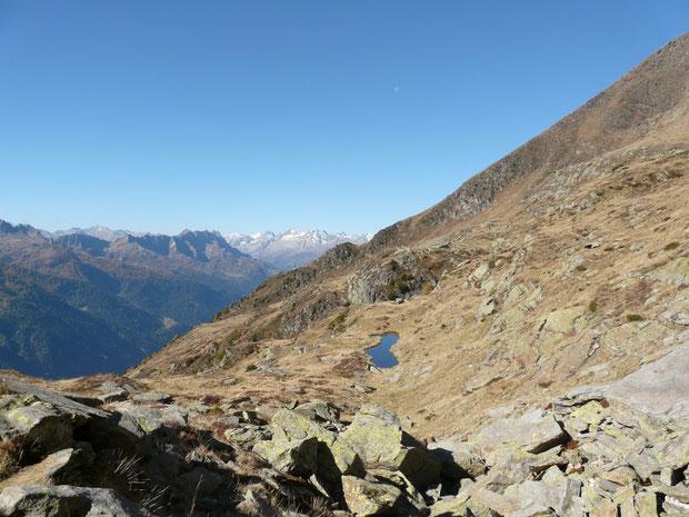Aufstieg zum Lago di Chièra