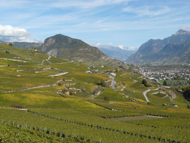 Le Châtelard im Rhônetal