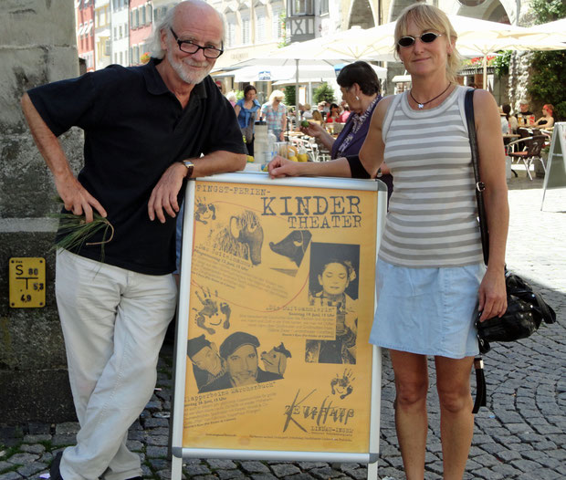 "Plakat Zeughaus, Lindau, Ankündigung ""Das Zottelmammut'"