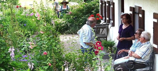 Fotos vom Tag der offenen Gartentür - Kreisverband Rosenheim e.V